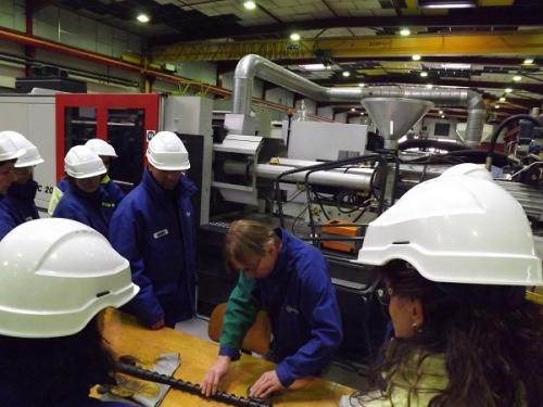 Visite de Solvay Belle-Etoile à Saint-Fons (69) - Professeurs en entreprise 2013